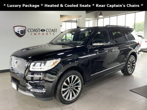 2020 Lincoln Navigator for sale at Coast to Coast Imports in Fishers IN