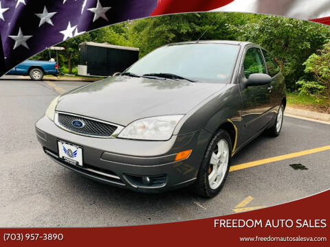 2006 Ford Focus for sale at Freedom Auto Sales in Chantilly VA