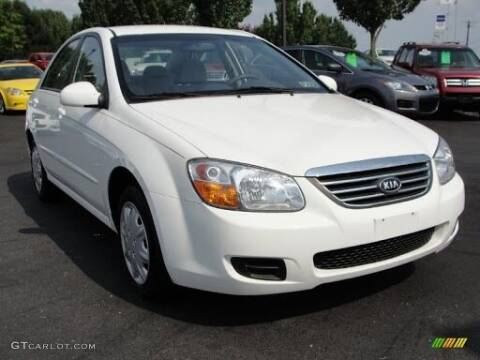 2008 Kia Spectra for sale at TEXAS MOTOR CARS in Houston TX