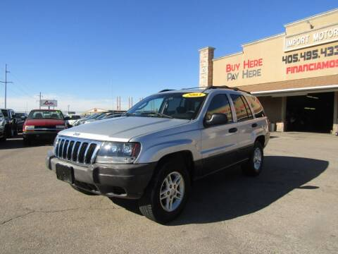 2003 Jeep Grand Cherokee for sale at Import Motors in Bethany OK