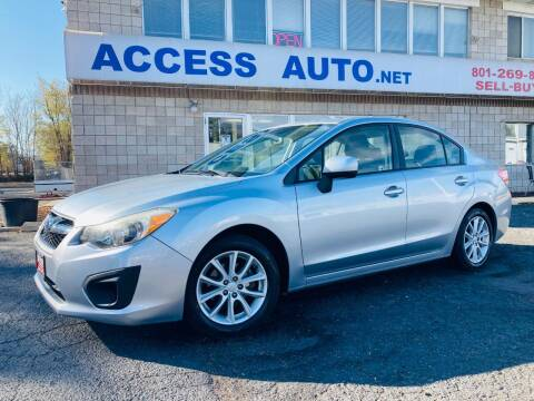 2013 Subaru Impreza for sale at Access Auto in Salt Lake City UT