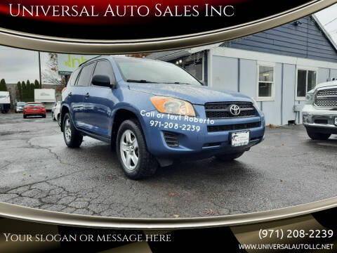 2010 Toyota RAV4 for sale at Universal Auto Sales Inc in Salem OR