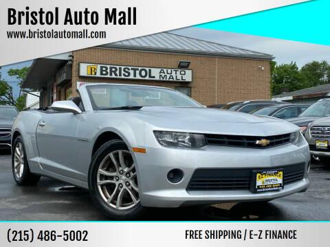 2015 Chevrolet Camaro for sale at Bristol Auto Mall in Levittown PA