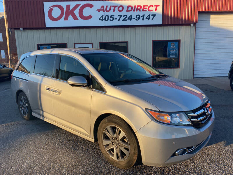 2014 Honda Odyssey for sale at OKC Auto Direct, LLC in Oklahoma City OK