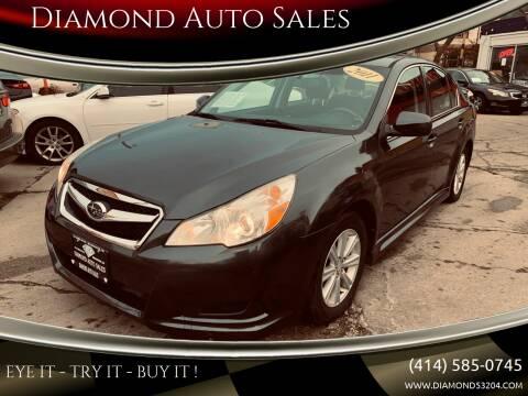 2011 Subaru Legacy for sale at Diamond Auto Sales in Milwaukee WI
