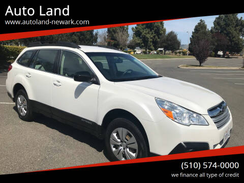 2013 Subaru Outback for sale at Auto Land in Newark CA