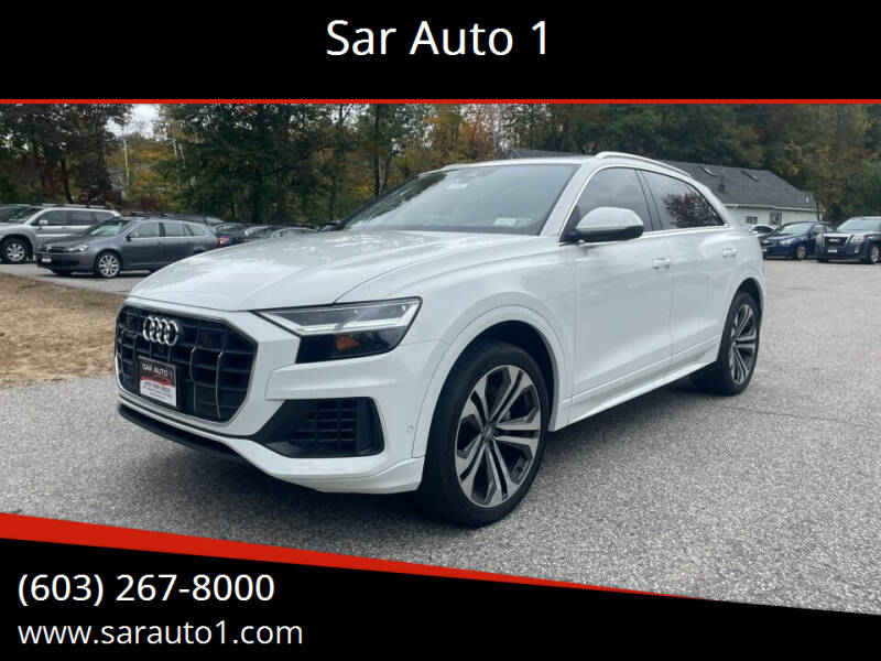 2020 Audi Q8 for sale at Sar Auto 1 in Belmont NH
