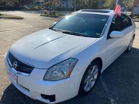 2008 Nissan Maxima for sale at Hilton Motors Inc. in Newport News VA
