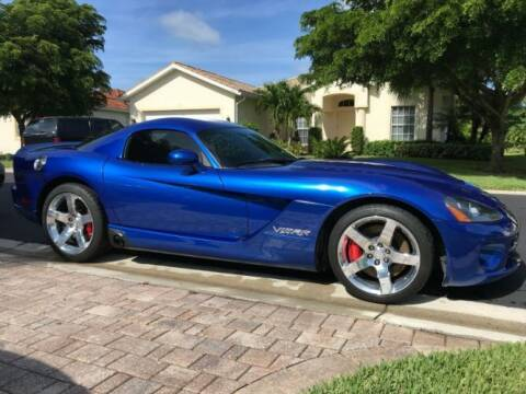 2006 Dodge Viper for sale at Classic Car Deals in Cadillac MI