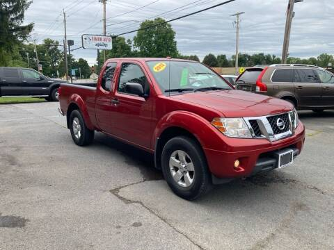 2012 Nissan Frontier for sale at JERRY SIMON AUTO SALES in Cambridge NY