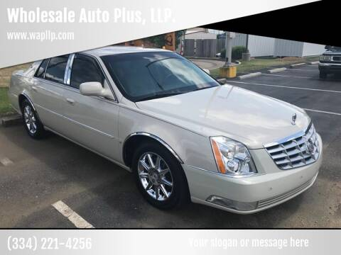 2010 Cadillac DTS for sale at Wholesale Auto Plus, LLP. in Montgomery AL