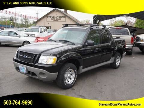 2001 Ford Explorer Sport Trac for sale at Steve & Sons Auto Sales in Happy Valley OR