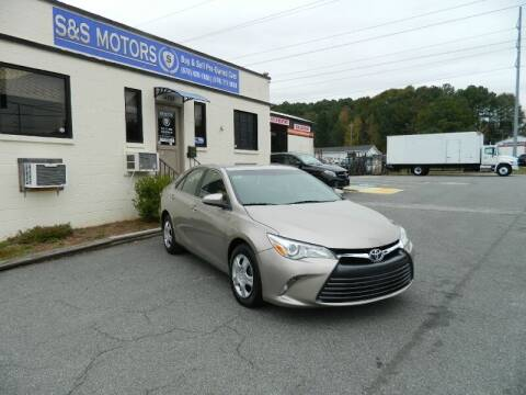 2017 Toyota Camry for sale at S & S Motors in Marietta GA