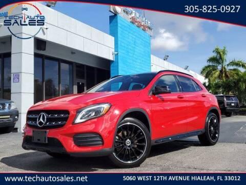 2020 Mercedes-Benz GLA for sale at Tech Auto Sales in Hialeah FL