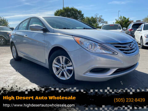 2013 Hyundai Sonata for sale at High Desert Auto Wholesale in Albuquerque NM
