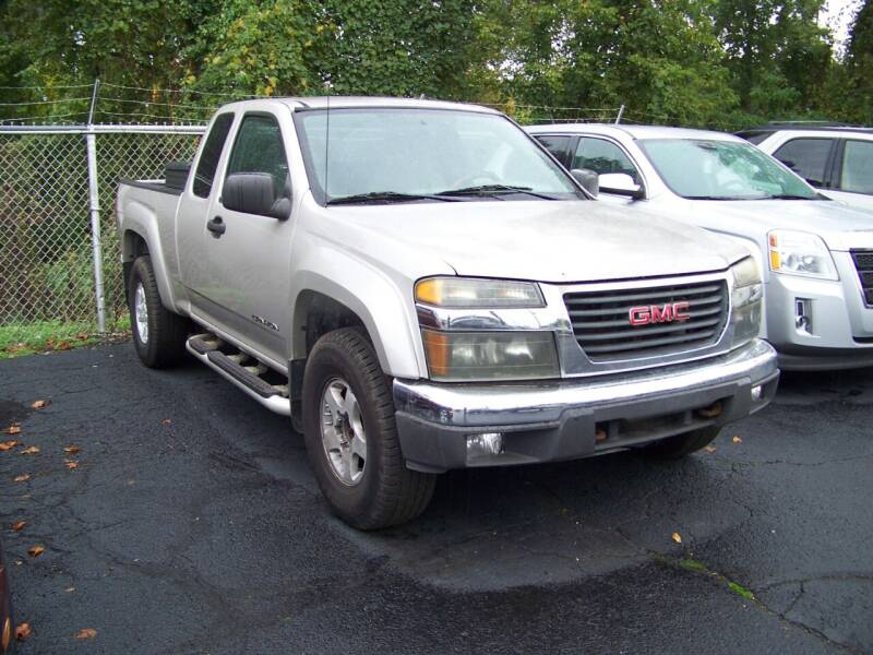 2005 GMC Canyon for sale at Collector Car Co in Zanesville OH