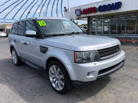 2010 Land Rover Range Rover Sport for sale at I-80 Auto Sales in Hazel Crest IL