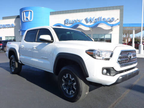 2017 Toyota Tacoma for sale at RUSTY WALLACE HONDA in Knoxville TN