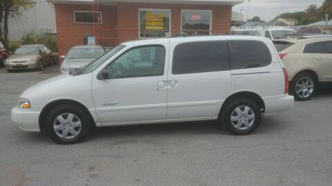 2000 Nissan Quest for sale at Lewis Used Cars in Elizabethton TN