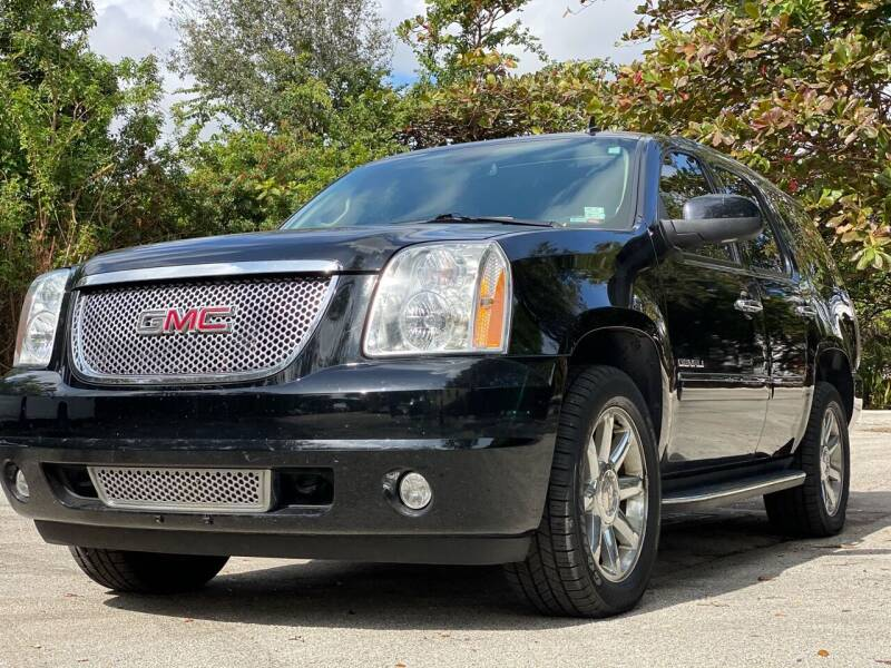 2013 GMC Yukon for sale at HIGH PERFORMANCE MOTORS in Hollywood FL