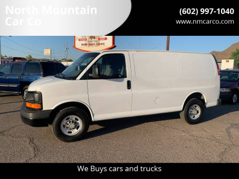 2011 Chevrolet Express Cargo for sale at North Mountain Car Co in Phoenix AZ