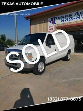 2008 Ford E-Series Wagon for sale at TEXAS AUTOMOBILE in Houston TX