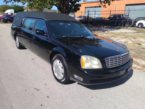 2003 Cadillac Deville Professional for sale at LAND & SEA BROKERS INC in Deerfield FL