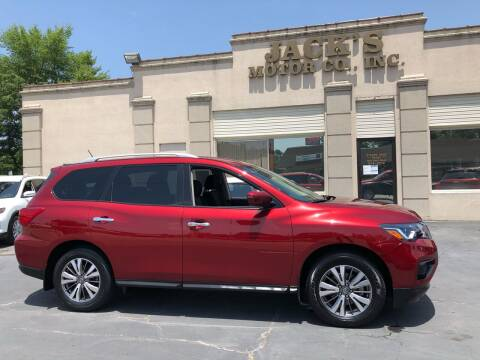 2018 Nissan Pathfinder for sale at JACK'S MOTOR COMPANY in Van Buren AR