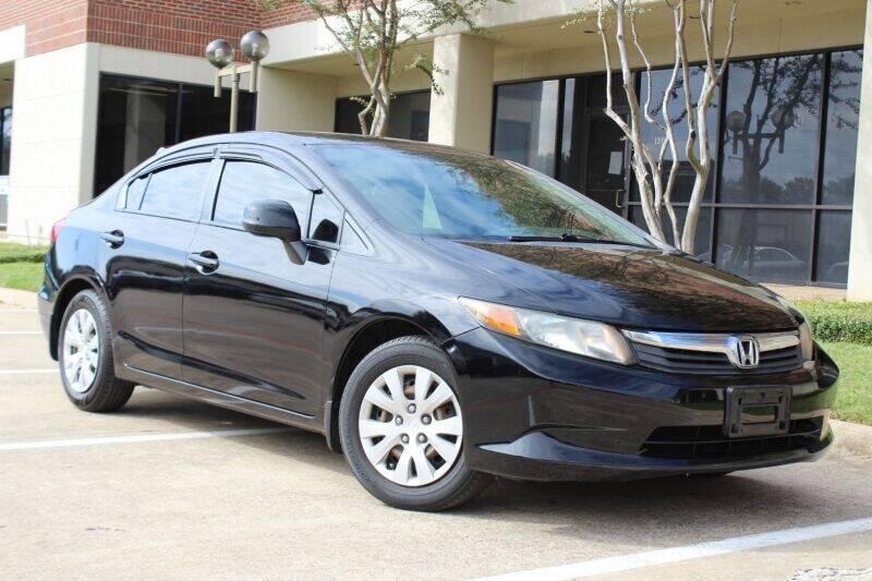 2012 Honda Civic for sale at DFW Universal Auto in Dallas TX