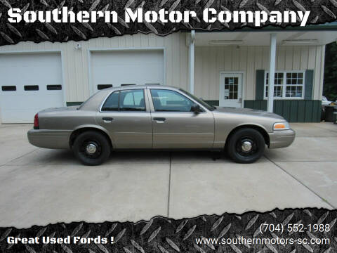 2007 Ford Crown Victoria for sale at Southern Motor Company in Lancaster SC