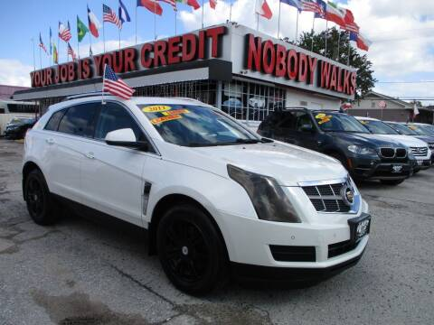 2011 Cadillac SRX for sale at Giant Auto Mart 2 in Houston TX