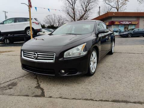 2013 Nissan Maxima for sale at Lamarina Auto Sales in Dearborn Heights MI