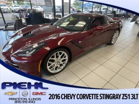 2016 Chevrolet Corvette for sale at Piehl Motors - PIEHL Chevrolet Buick Cadillac in Princeton IL