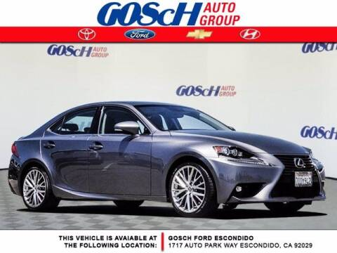 2016 Lexus IS 200t for sale at BILLY D SELLS CARS! in Temecula CA