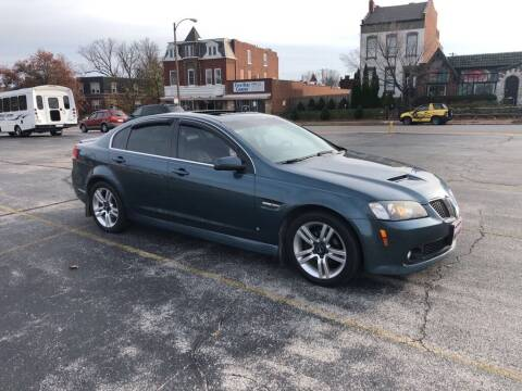 2009 Pontiac G8 for sale at DC Auto Sales Inc in Saint Louis MO