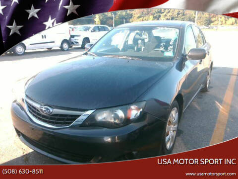2009 Subaru Impreza for sale at USA Motor Sport inc in Marlborough MA