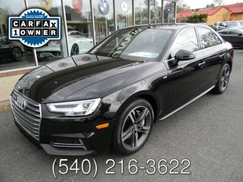 2018 Audi A4 for sale at Platinum Motorcars in Warrenton VA