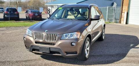 2011 BMW X3 for sale at Transmart Autos in Zimmerman MN