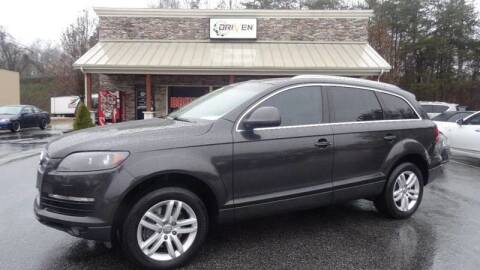 2009 Audi Q7 for sale at Driven Pre-Owned in Lenoir NC