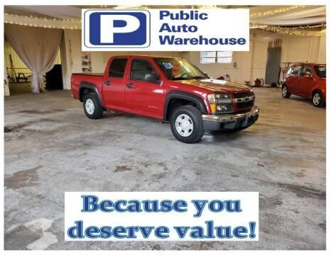 2005 Chevrolet Colorado for sale at Public Auto Warehouse in Pekin IL