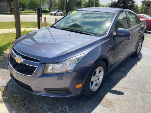 2013 Chevrolet Cruze for sale at Two Rivers Auto Sales Corp. in South Bend IN