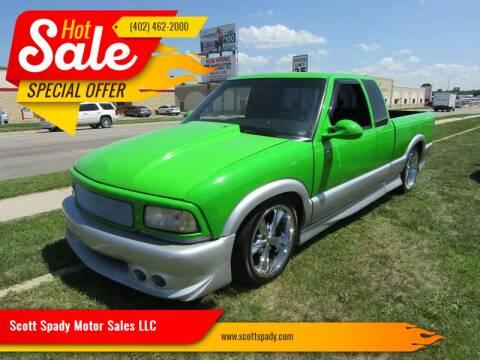 1994 GMC Sonoma for sale at Scott Spady Motor Sales LLC in Hastings NE