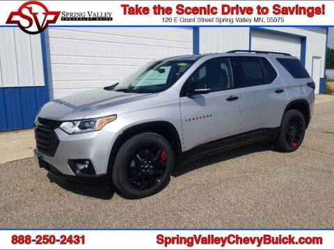 2020 Chevrolet Traverse for sale at Spring Valley Chevrolet Buick in Spring Valley MN
