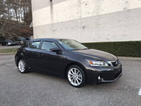 2012 Lexus CT 200h for sale at Select Auto in Smithtown NY