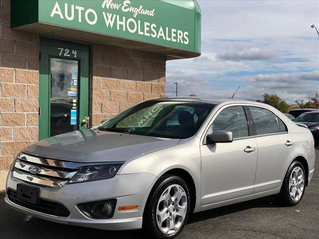 2010 Ford Fusion for sale at New England Wholesalers in Springfield MA
