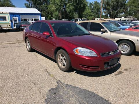 2008 Chevrolet Impala for sale at AFFORDABLY PRICED CARS LLC in Mountain Home ID
