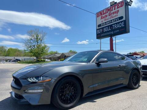 2018 Ford Mustang for sale at Unlimited Auto Group in West Chester OH