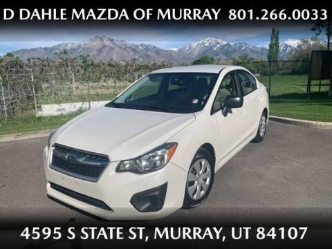 2014 Subaru Impreza for sale at D DAHLE MAZDA OF MURRAY in Salt Lake City UT