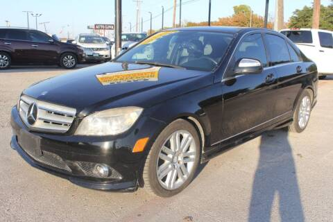 2009 Mercedes-Benz C-Class for sale at Flash Auto Sales in Garland TX