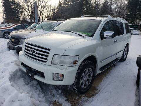 2005 Infiniti QX56 for sale at Northwoods Auto & Truck Sales in Machesney Park IL